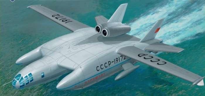 Уникальный самолет СССР &8211; амфибия ВВА-14