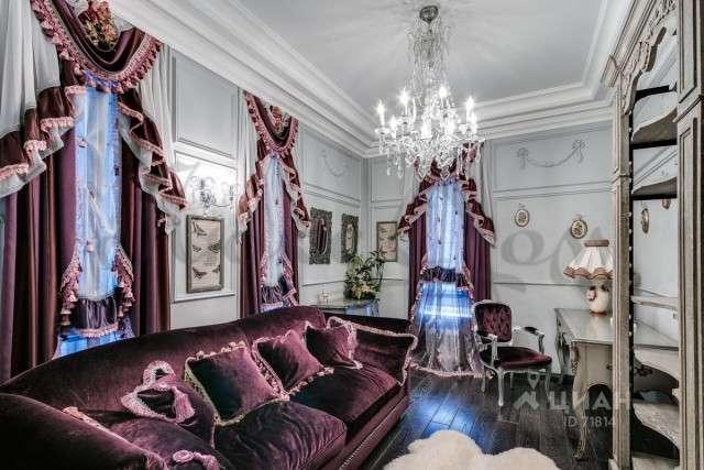 Дизайн квартиры в Москве за 55 миллионов рублей