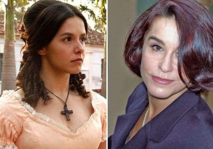 Звезды сериала -Рабыня Изаура- тогда и сейчас