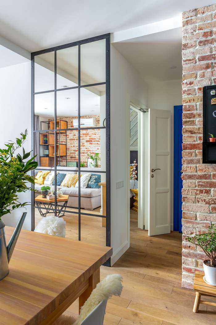 Интерьер московской квартиры для молодой семьи
