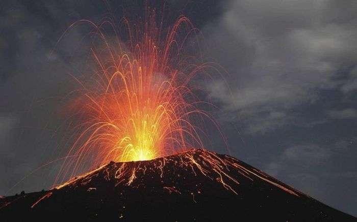 7 вулканов, которые заставят человека вспомнить о своей ничтожности