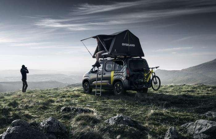 Peugeot в новом обличье и с палаткой станет отличным выбором для путешественников
