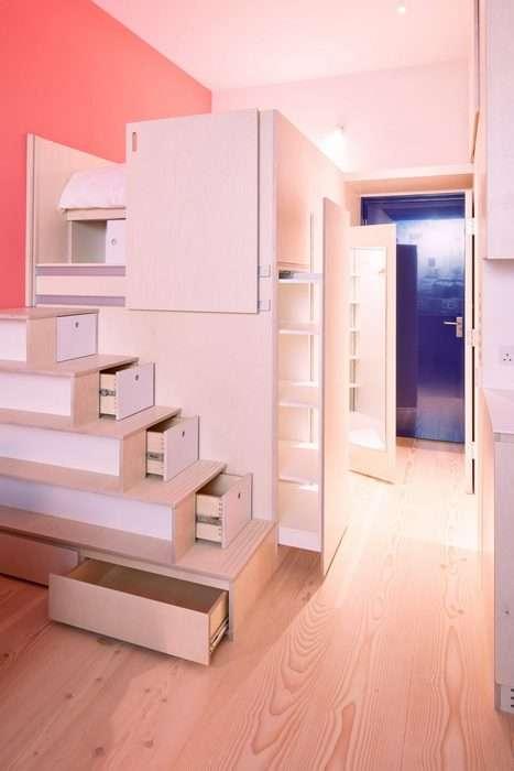 Полноценная квартира, или Как уместить всё на 19 кв. метрах