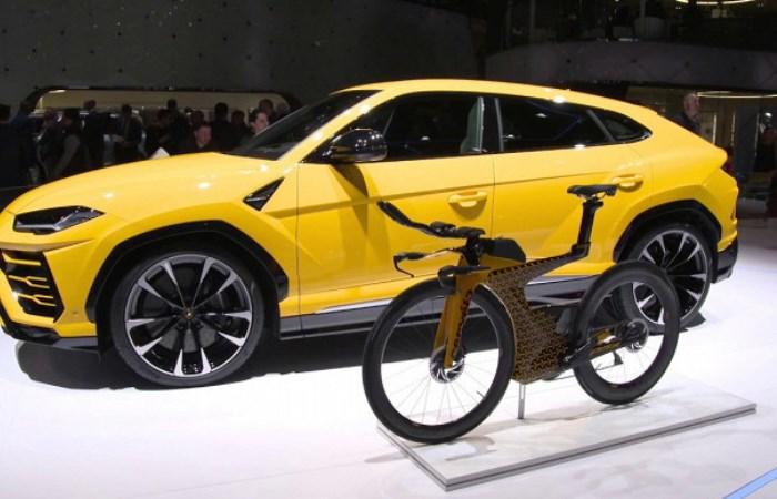Lamborghini выпустила велосипед по стоимости новенькой иномарки