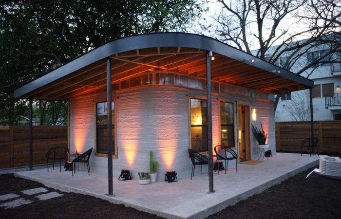 Суперкомпактный дом, созданный при помощи 3D-печати за считанные часы