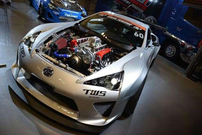 7 автомобилей с откровенно -зверскими- моторами