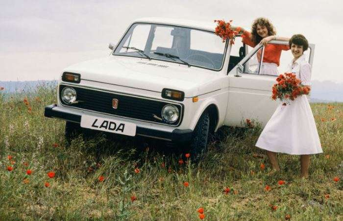10 архивных фото развития -Нивы- - автомобиля, который не теряет популярности уже 40 лет