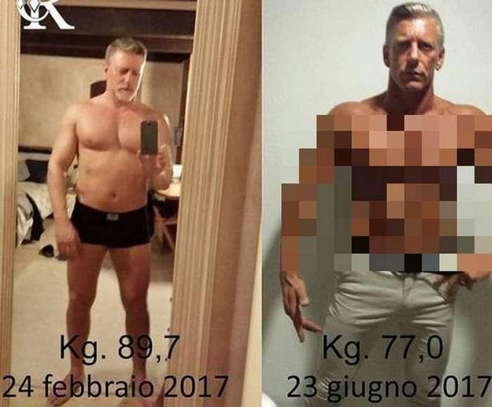 Отец-итальянец помолодел благодаря сыну