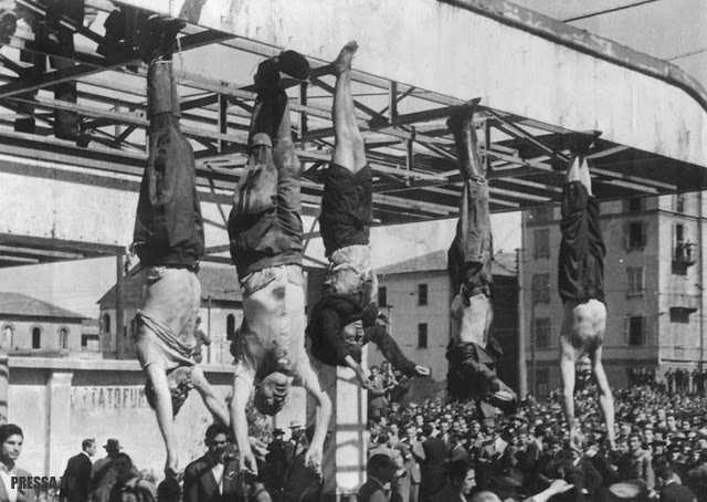 Страницы истории: Смерть Бенито Муссолини (18+)