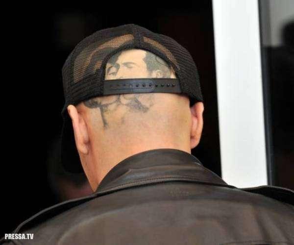 Обычные татуировки голливудских знаменитостей