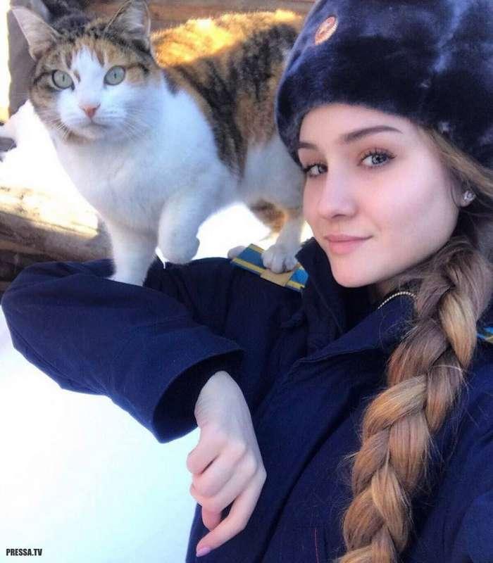 Русские красавицы в форме
