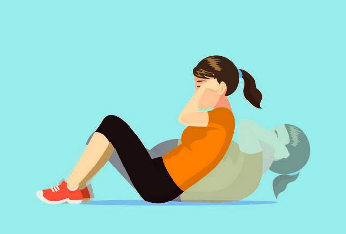 5 эффективных упражнений для подтянутого живота
