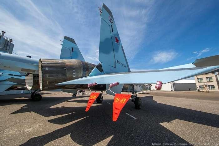 Производство истребителя Су-35-19 фото-