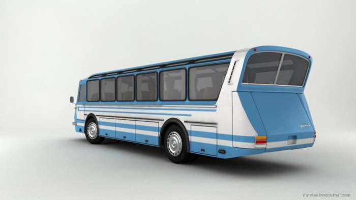 Автобусы &8211; гордость СССР и России