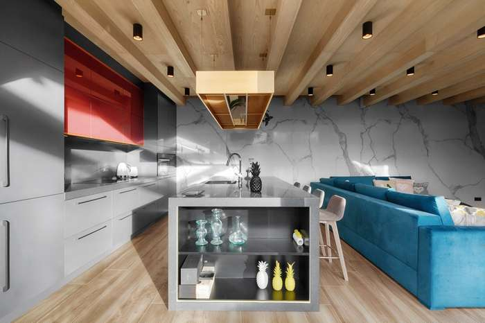 Дизайн киевского -Дома Будды-