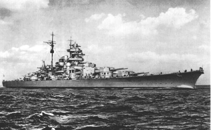 Охота на линкор -Бисмарк-
