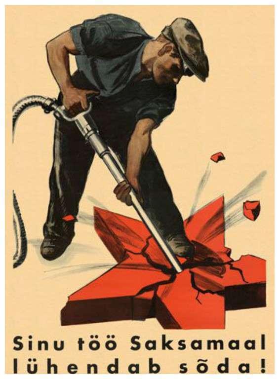 Антикоммунистическая и антисоветская пропаганда в плакатах прошлого