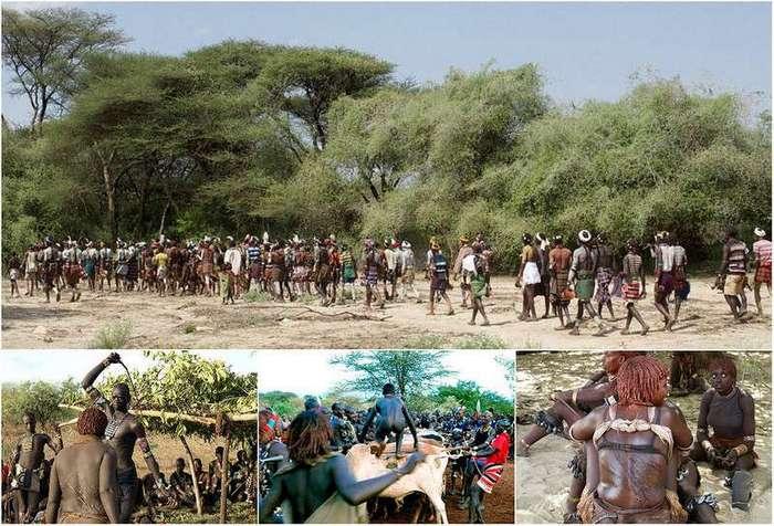 Жестокие обряды Эфиопских племен