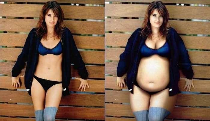 Странные вещи, которые происходят с женским телом во время беременности