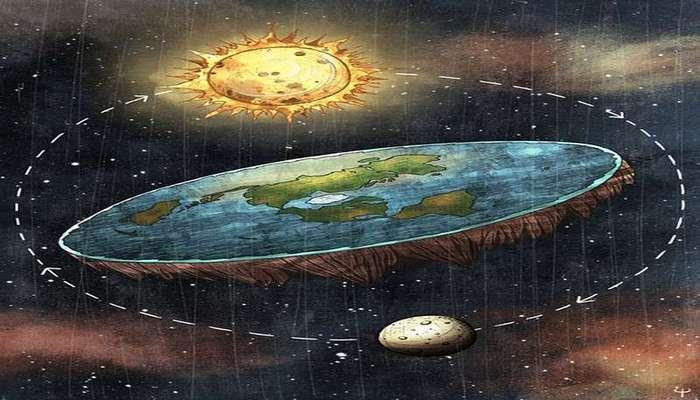 Арабский студент представляет -научные доказательства-, что земля плоская