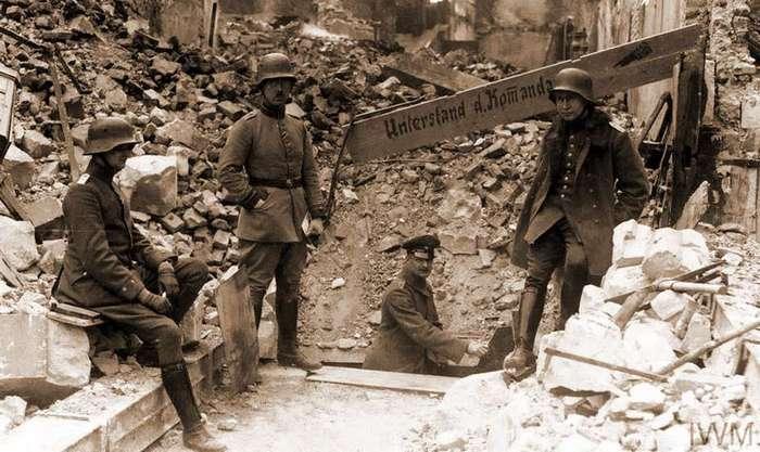 Бойня Нивеля: сказ о том, как союзники трупами немцев закидали
