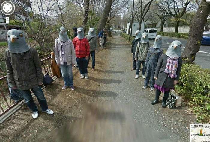 Зачем вообще выходить куда-то на улицу, когда столько интересного происходит на гугл-картах?
