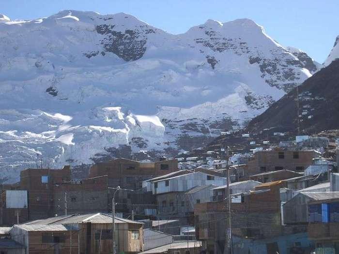 Самый высокогорный город в мире