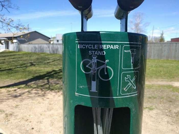 Станция обслуживания велосипеда