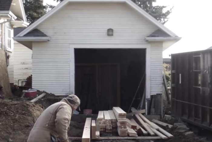 Когда теща захотела переехать к детям, зять поселил ее в гараже
