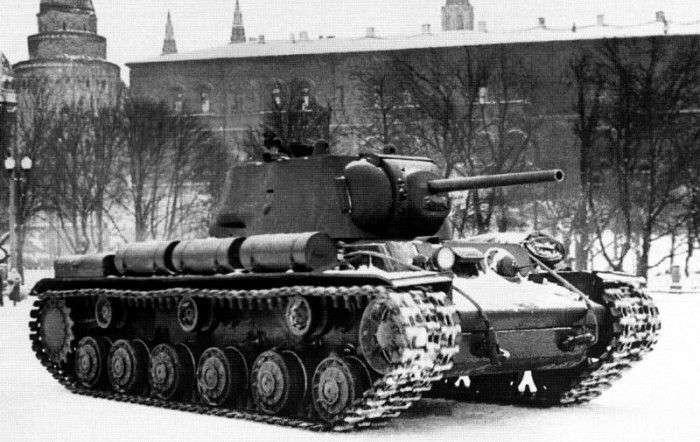 Советский танк КВ-1: почему немцы называли его -чудовищем-