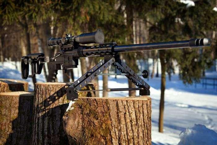 Лёгкая тактическая снайперская винтовка для бесшумной стрельбы ДВЛ-10 М1 -Диверсант-