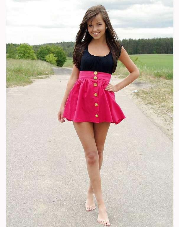 Девчонки с умопомрачительными ногами