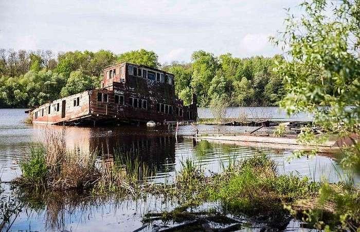 Заброшенные корабли Чернобыля