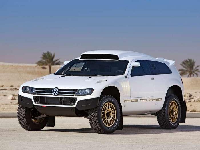 Volkswagen Race Touareg 3 Qatar Concept: дакаровский внедорожник для дорог общего пользования