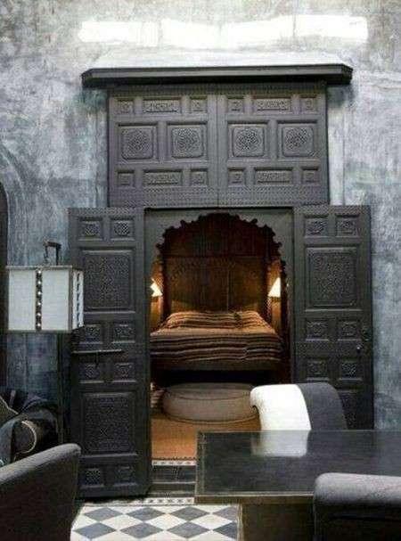 Потайные комнаты и прочие секретные помещения