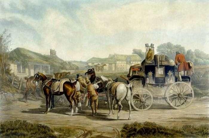 Мигалки XVIII века