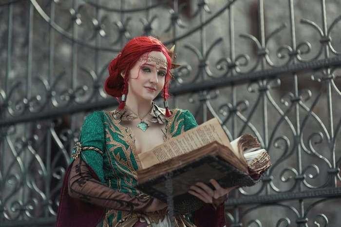 Косплей дня: Трисс и Йеннифэр из The Witcher 3.