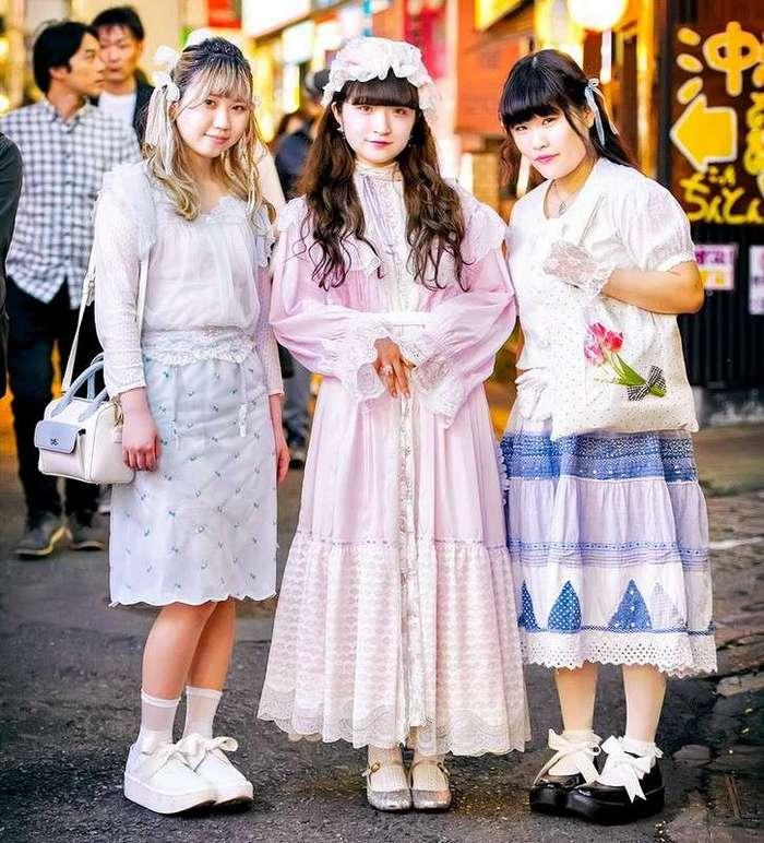 Модные персонажи на улицах Токио (27.05.17)