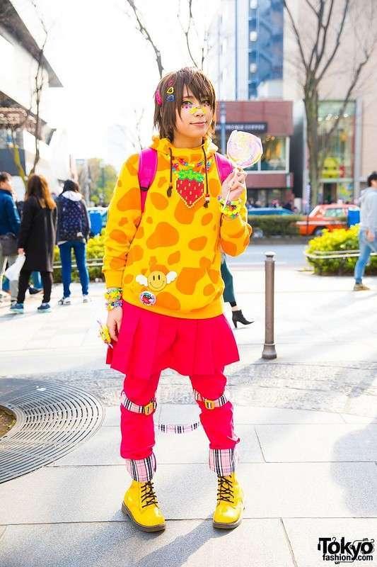 Модные персонажи на улицах Токио (23.05.17)