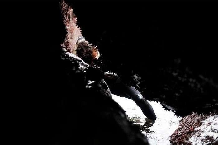 Санти Диаз Москера — охотник за ракушками Гусиная шея