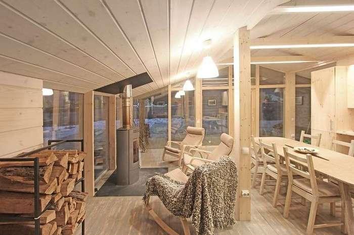 Всесезонный модульный дом, который устанавливается за один день