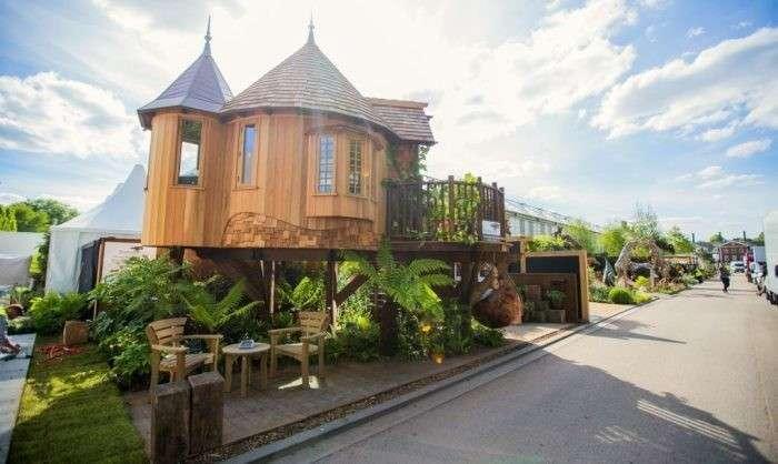 Домик для отдыха, который можно поставить и в саду, и на дачном участке