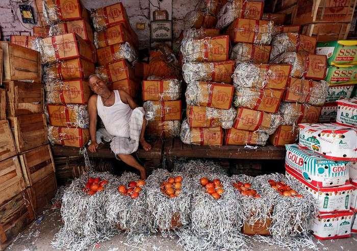 Снимки, сделанные в Индии в этом месяце