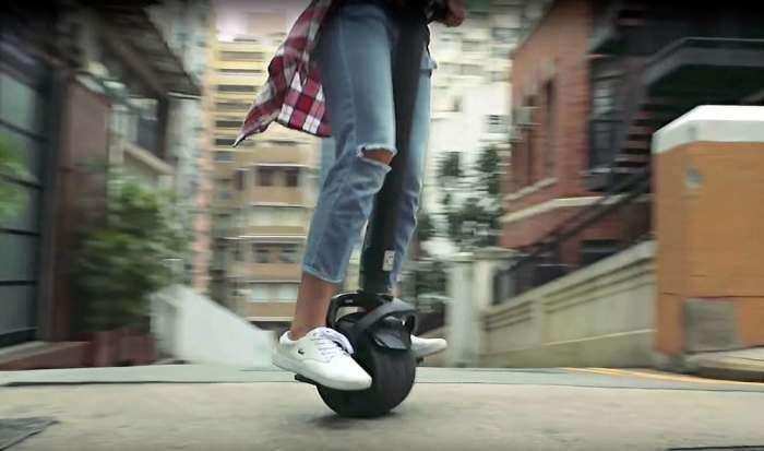 Kiwano K01 - электрический моноколесный скутер для самых приятных поездок