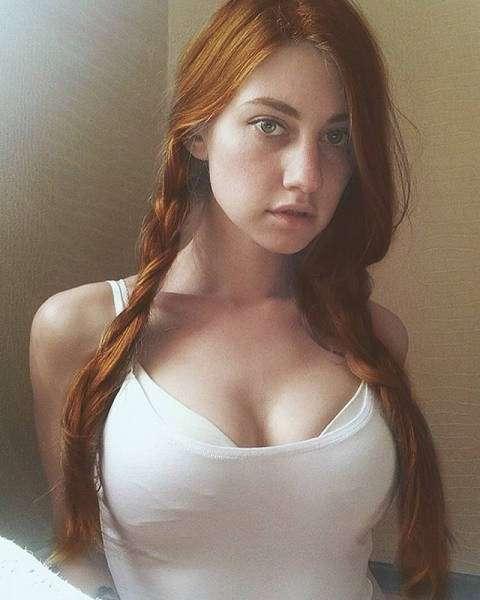 Рыжеволосые красавицы (49 фото)