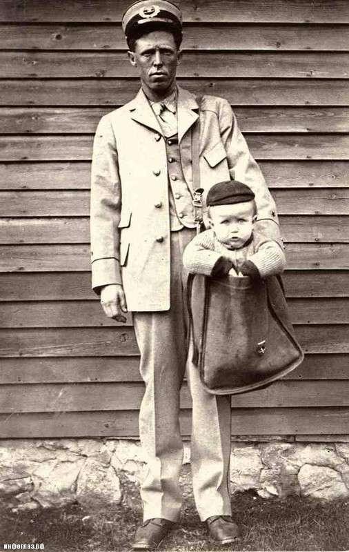 Ребенка по почте
