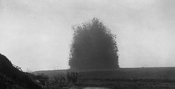 Самый мощный взрыв Первой мировой войны!