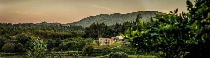 Усадьба в живописном районе северной Португалии