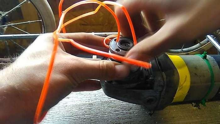 Как сделать газонокосилку из детской коляски и -болгарки-