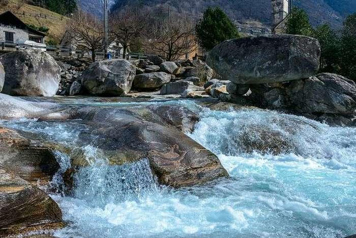 Верзаска - самая прозрачная река в мире